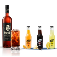 CATERING 3. RON DE JEREMY, REFRESCOS LA GLORIA Y SNACKS.